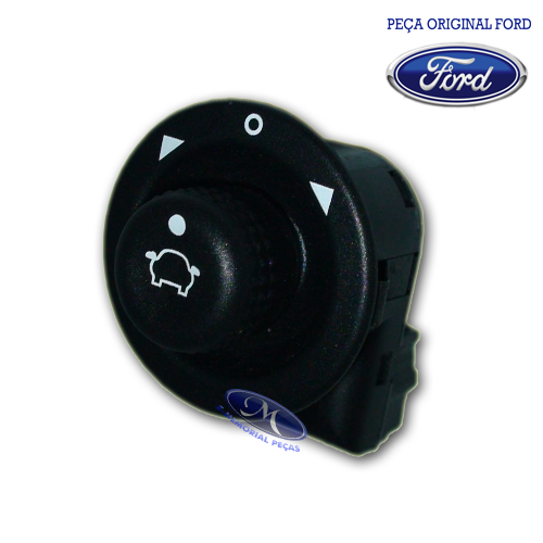 INTERRUPTOR DO ESPELHO RETROVISOR EXTERNO ( NEW FIESTA SEDAN