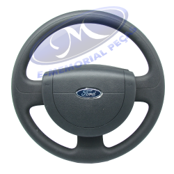 VOLANTE DE DIRECAO (SEM AIR BAG) -  ORIGINAL FORD - Codigo S