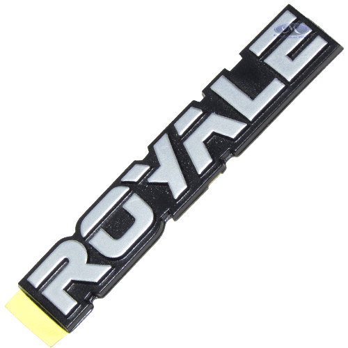 LOGOTIPO 'ROYALE' -  ORIGINAL FORD -   - Unidade - FORD R