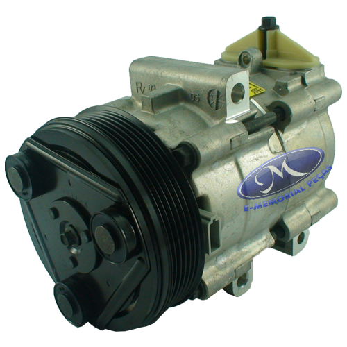 COMPRESSOR DO AR CONDICIONADO - PECA ORIGINAL -  4L3Z19V703C