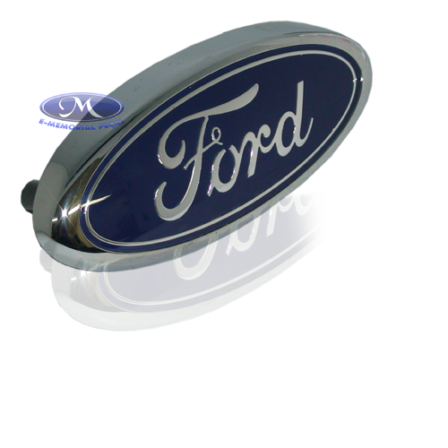 EMBLEMA 'FORD' DA GRADE DO RADIADOR (FOCUS 2008 A 2013 - SEG