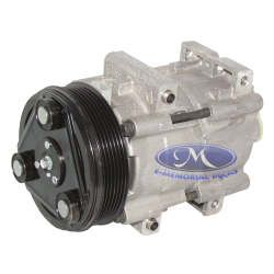 COMPRESSOR COMPLETO DO AR CONDICIONADO  -  ORIGINAL FORD - C
