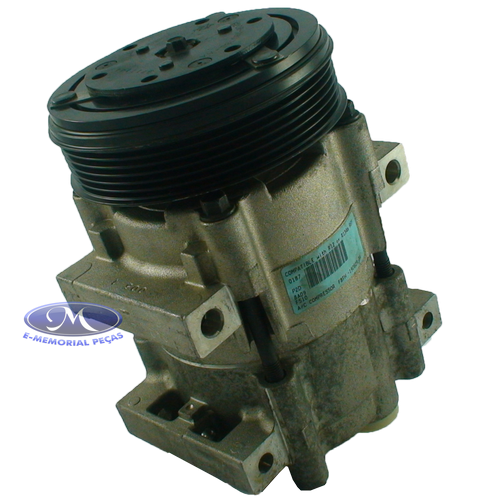 COMPRESSOR DO AR CONDICIONADO - PECA ORIGINAL -  96BW19D629D