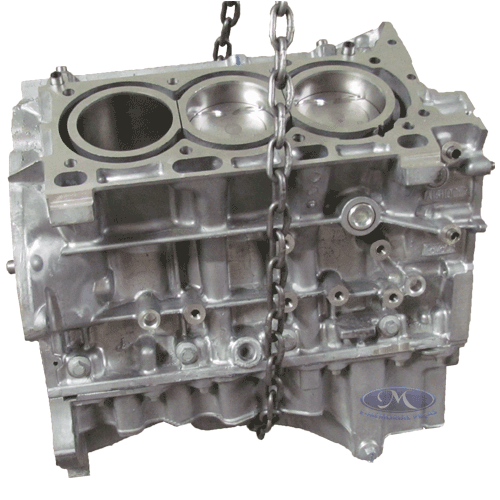 MOTOR PARCIAL ( BLOCO DO MOTOR ) - (FORD EDGE 2009 A 2010) -
