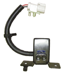 SENSOR E SUPORTE DIANTEIRO DO AIR BAG   - MARCA: ORIGINAL FORD - CODIGO DO PRODUTO: F5TZ14B004F - sensor do air bag - lado do motorista - PECA
